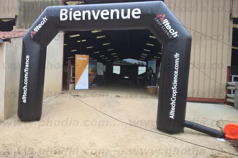 arche auto-ventilée portes ouvertes